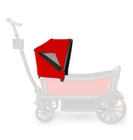 veer Veer Retractable Canopy- Pele Red
