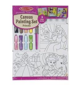 Melissa & Doug Canvas Painting Set - Princess