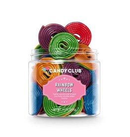 Candy Club Candy Club- Rainbow Wheels 9oz.