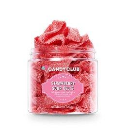 Candy Club Candy Club- Strawberry Sour Belts 9oz.