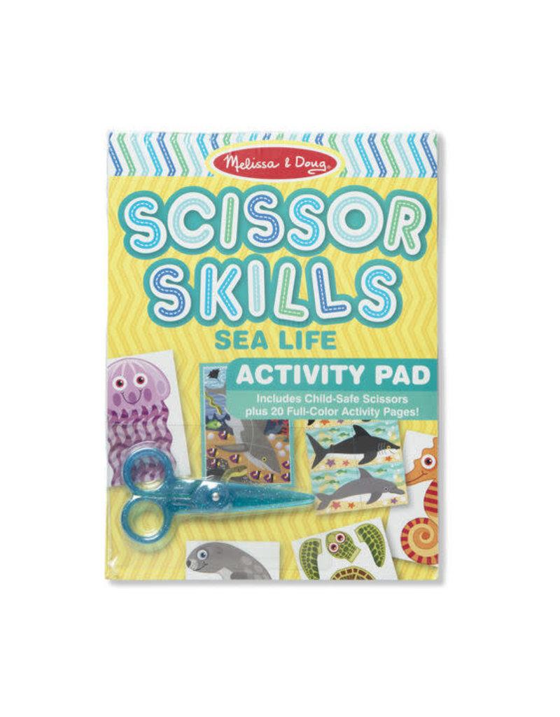 Melissa & Doug Scissor Skills Sea Life Activity Pad