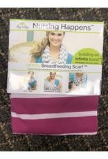 Nursing Happens- Pink Stripe