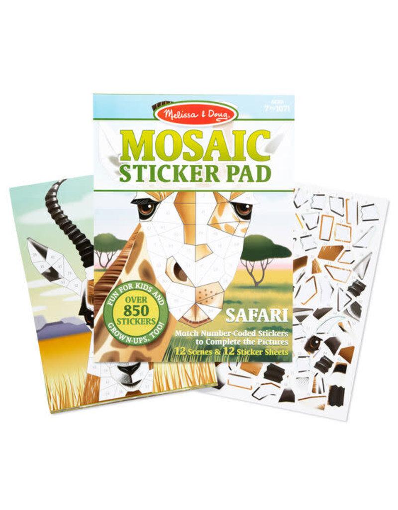Melissa & Doug Mosaic Sticker Pad - Safari Animals