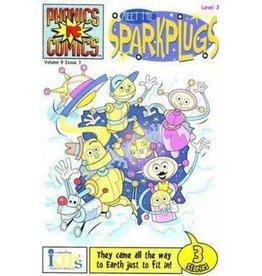 Melissa & Doug Phonics Comics: Level 3 Meet the Sparkplugs