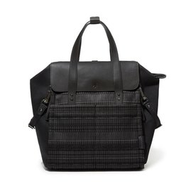 Skip Hop Highline Black Granite Backpack Diaper Bag
