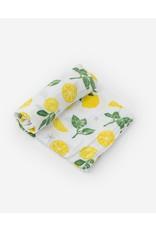 Little Unicorn Cotton Muslin Swaddle Blanket - Lemon Drop