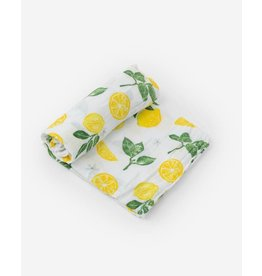 Little Unicorn Cotton Muslin Swaddle Blanket - Lemon Drop