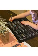 Imagination Starters Chalkboard Letters Practice Placemat