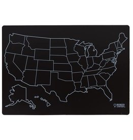 Imagination Starters Chalkboard Map Placemat
