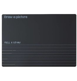 Imagination Starters Chalkboard Draw Write Placemat