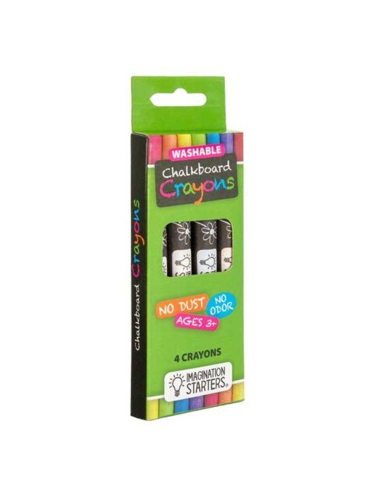 Imagination Starters Chalkboard Crayon - Set of 4