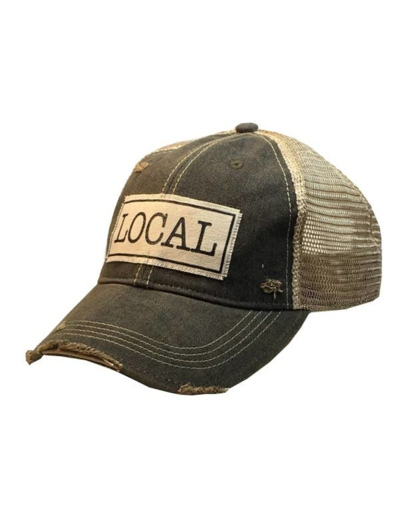 Vintage Life Local Distressed Trucker Cap
