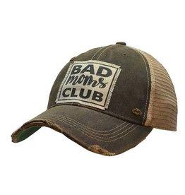 Vintage Life Bad Moms Club Distressed Trucker Cap