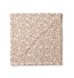 Mini Scout LLC Whimsy Floral Swaddle Multi- Peach