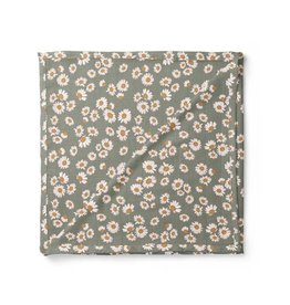 Mini Scout LLC Daisy Swaddle Sage Green