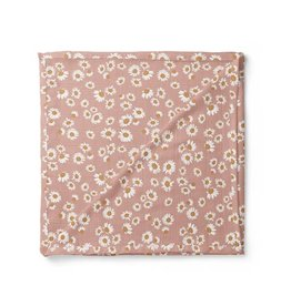 Mini Scout LLC Daisy Swaddle Blush Pink