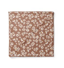 Mini Scout LLC Daisy Swaddle Clay Brown
