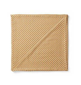 Mini Scout LLC Polka Dot Swaddle Amber