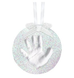 Pearhead Babyprints Christmas Ornament, Glitter