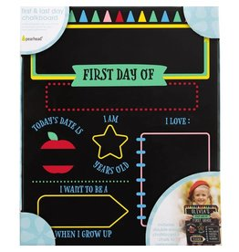 Pearhead First and Last Day of School Reversible Chalkboard
