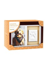 Pearhead Pet Memory Box and Impression Kit, Espresso