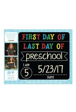 Pearhead First And Last Day Photo Sharing Chalkboard Signs