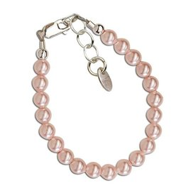 Cherished Moments Jami - Sterling Silver Pink Pearl Bracelet