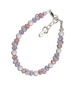 Cherished Moments Natalee - Sterling Silver Multi-Color Bracelet
