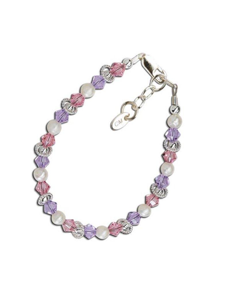 Cherished Moments Natalee - Sterling Silver Multi-Color Bracelet