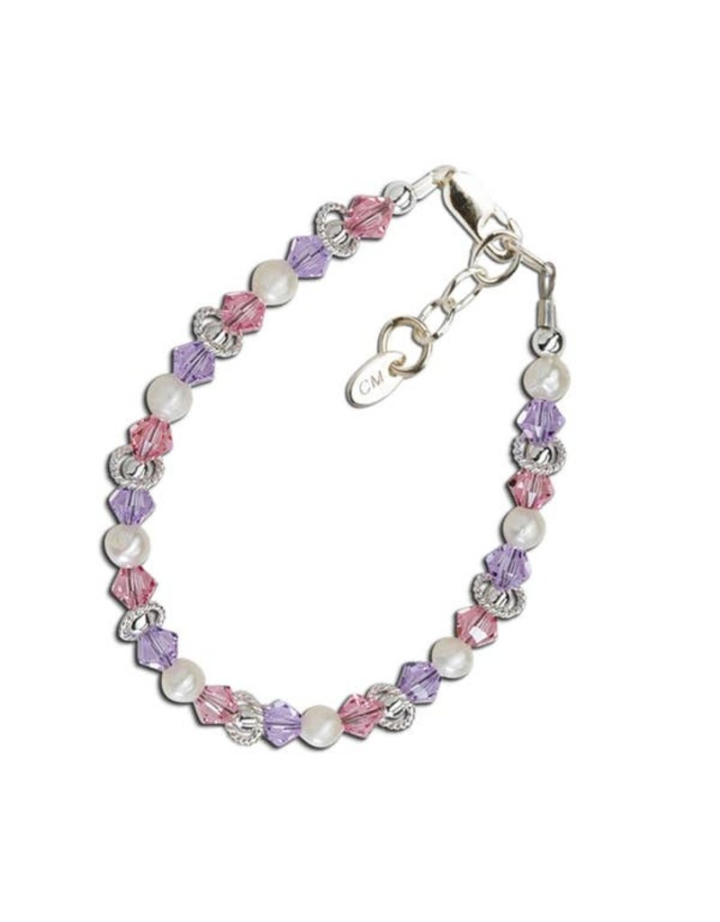 Natalee - Sterling Silver Multi-Color Bracelet