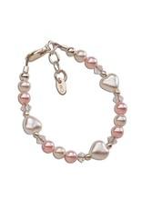 Cherished Moments Sweetheart - Sterling Silver Heart Bracelet