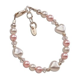Cherished Moments Sweetheart - Sterling Silver Heart Bracelet