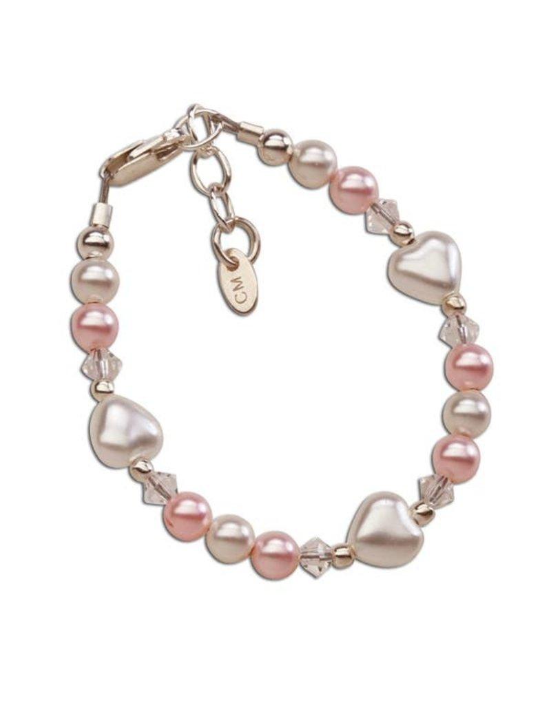 Sweetheart - Sterling Silver Heart Bracelet