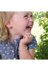Cherished Moments Payton - Sterling Silver Pink Pearl Bracelet
