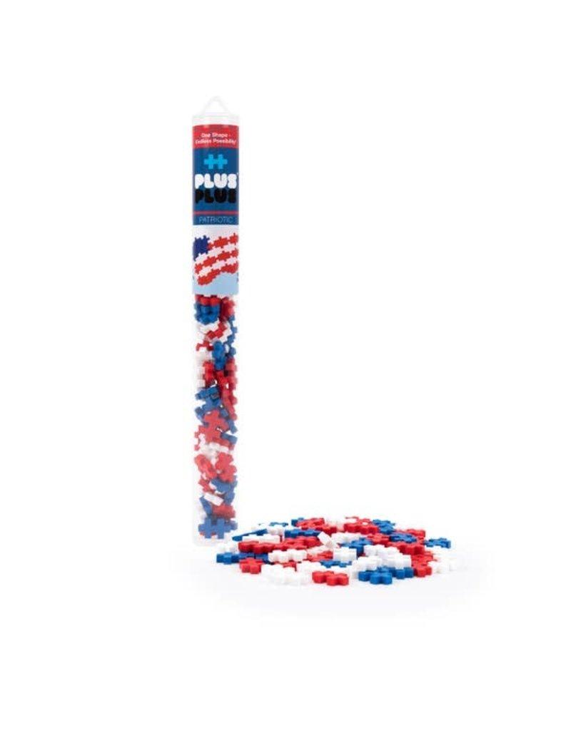 Plus-Plus USA Tube - Patriotic Mix