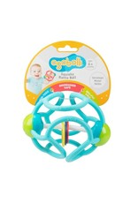 Bolli Squishy Rattle and Teether - Blue