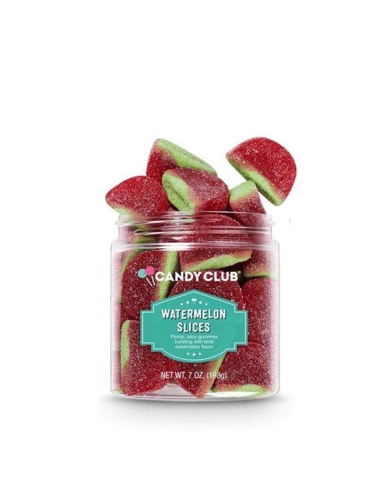 Candy Club Candy Club- Watermelon Slices 7oz
