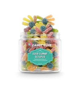 Candy Club Candy Club- Sour Gummy Octopus 12oz
