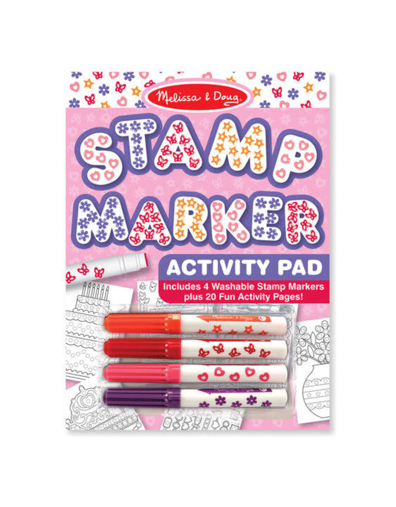 Melissa & Doug Stamp Marker Activity Pad - Pink