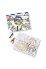 Melissa & Doug Space, Sharks, Sports & More Jumbo Coloring Pad