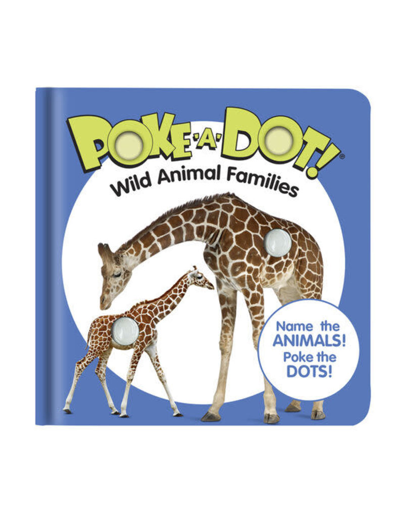 Melissa & Doug Small Poke A Dot: Wild Animal Families