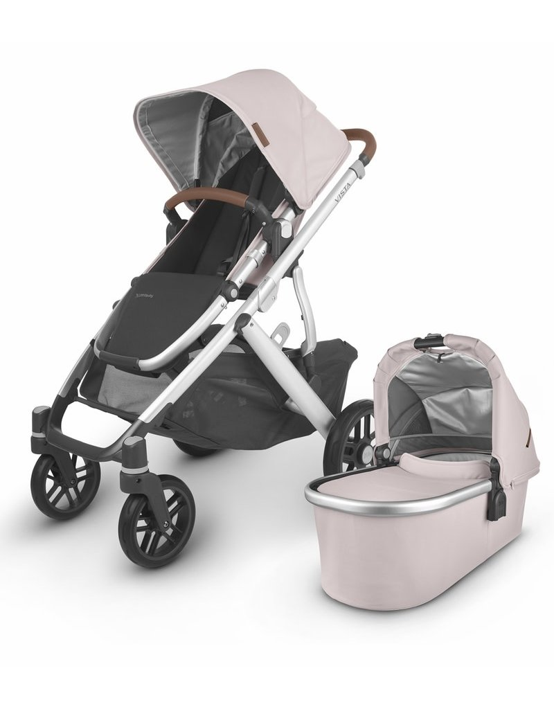 Uppababy UPPAbaby 2020 Vista V2 Stroller - Alice (Dusty Pink/Silver/Saddle Leather)