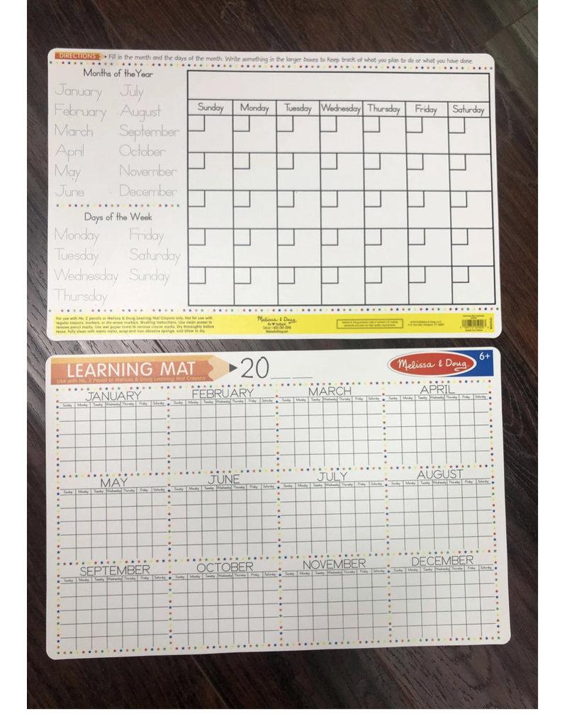 Melissa & Doug Melissa & Doug Calendar Write-A-Mat