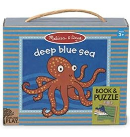 Melissa & Doug NP Book and Puzzle - Deep Blue Sea