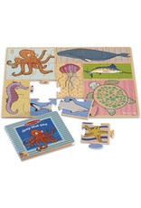 Melissa & Doug NP Book and Puzzle - Deep Blue Sea