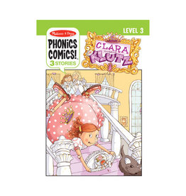 Melissa & Doug Phonics Comics: Level 3 Clara the Klutz