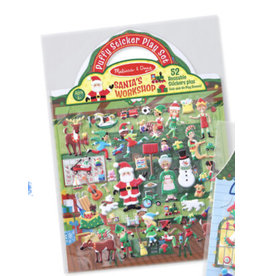 Melissa & Doug Puffy Stickers- Tis the Season