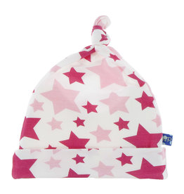 Kickee Pants Print Knot Hat Flamingo Star