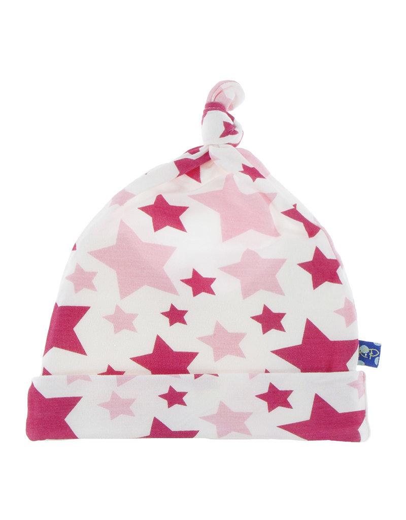 Kickee Pants Print Knot Hat Flamingo Star