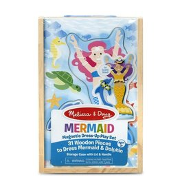 Melissa & Doug Mermaid Magnetic Dress-Up Play Set